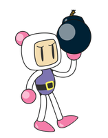 Bomberman Vector by pikmin789