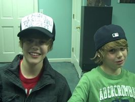 Justin Bieber and BFF by marmar123