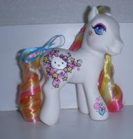 MLP Custom Hello Kitty by colorscapesart