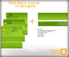 Field Below Journal by BewareGravityCSS