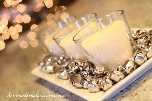 Jingle Bell Candles by citybeachfremont
