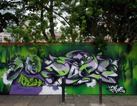 nash does london m.o.s. 2009 by nashone