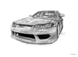 Nissan Silvia by Kacper Mamcarczyk by KacperMamcarcyzk