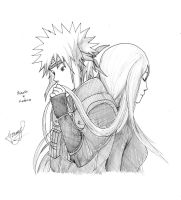 Minato and Kushina by HaRRyLL