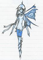 Water Fairy by chastened