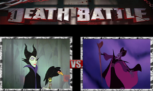 Maleficent vs. Jafar by JasonPictures