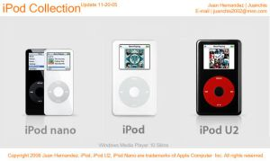 iPod Collection Update11-20-05 by juanchis