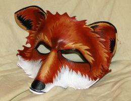 Sly Fox Mask by Lady-Cass