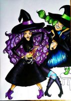 Witches by AmelSugar