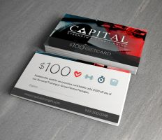 Capital Strength and Conditioning - Gift card by squizzi