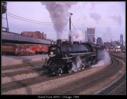 Grand Trunk 4070 I by classictrains