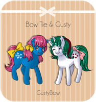 ID - Bow Tie and Gusty by GustyBow