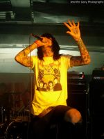 Oli Sykes BMTH by JennyVonGrimm