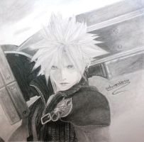Cloud Strife by edwarddesu