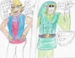 Toon Link and Tetra or are they? by ArtistOtaku91