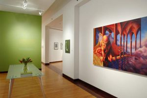 gallery hanging by SMichanczyk