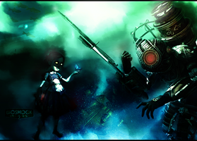 BioShock 2 WP by RedDevil00