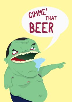 Gimme' that beer by BlueMethamphetamine
