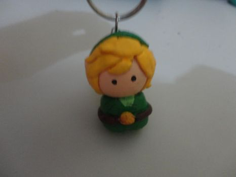 Chibi Link - Keychain by TekaaL