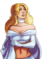 emma frost by thanoodles