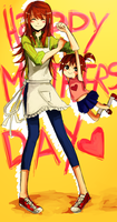 HAPPEH MOTHERS DAY!!! by Izzu-shi