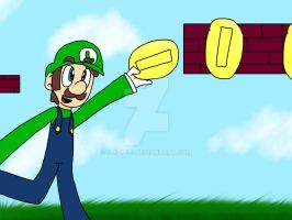 Request- Luigi by S-K-Y-L-I