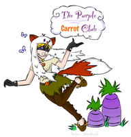 The Purple Carrot Club by Archykins