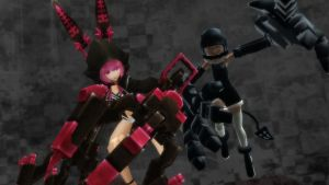 MMD - strength vs XNEFE by asiersempai