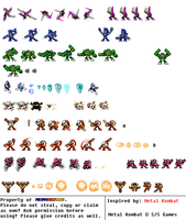 Master Fatalities Set 10 by MegaRed225