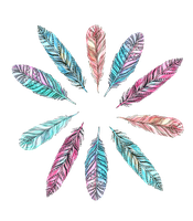 Feathers PNG by milkyanunnie