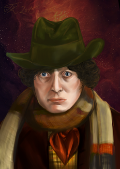 Fourth Doctor by Totally-Exterminated