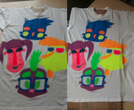 Moville Crew Neon T-shirt by sixteen6stars