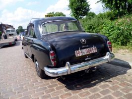 Classic German Mercedes 180D Taxi     P.2 by someoneabletofindana