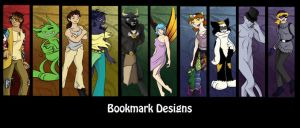 Bookmarks 1: On the Couch by SurlyQueen