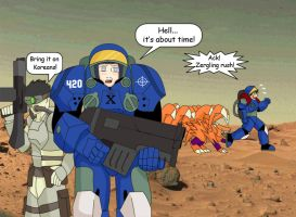Team 8 is back StarCraft style by Pugthug