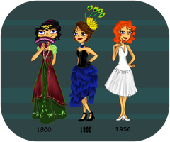 Fashion throughout time by katiediazz