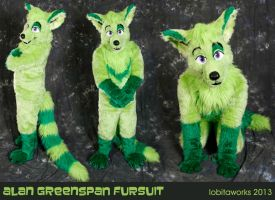 Alan Greenspan Fursuit by LobitaWorks