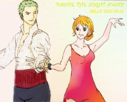 Dance the Night Away (Zoro Nami) by BelleLoveZoro