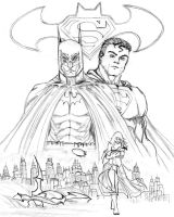 Batman and Superman 2 by bekaboo