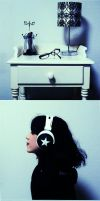 my style, my headphones by Xx-emi-chan-xX