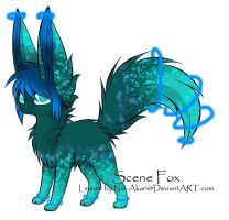 Scenefox Named Crystal by DragoniteMessenger