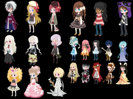 Free Adoptable -Closed- by Tattered-Adoptables