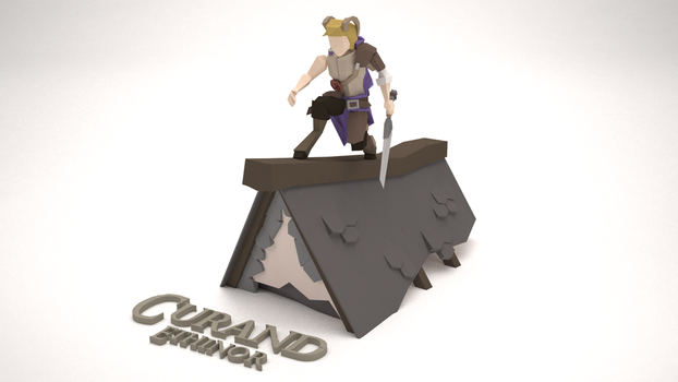 Low Poly Character - Curand Ethinor by MacLellan