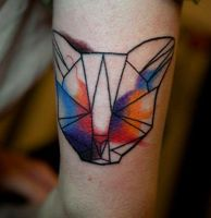 kitty by evilmoon-tattoo