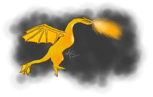 Golden Flames by toastysun125