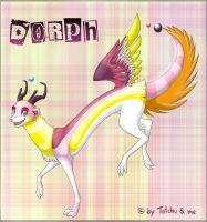 :Gift: Dorph by MoonyWings