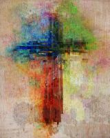 Abstract Cross by kevron2001
