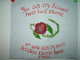 Thorns have Roses by Shells124