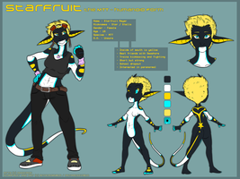 [REF] Starfruit Meyer - Humanoid Form by technogeckos