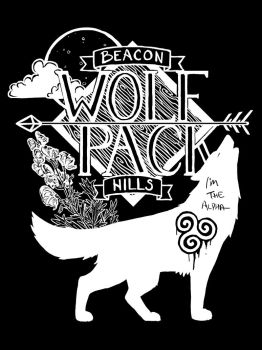 Beacon Hills Wolf Pack by Distraction-Number-4